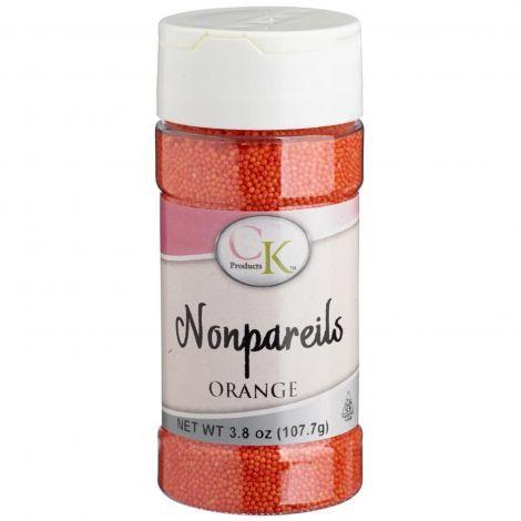 3.8 oz Non-Pareils Orange