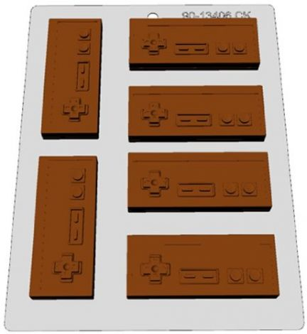 Classic Video Games Controller Choc Mold