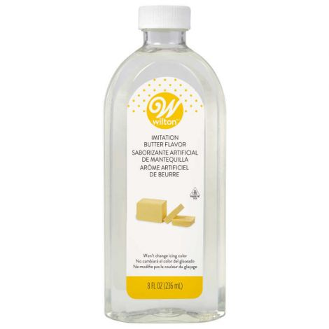 Clear Butter Flavor 8oz