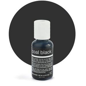 Liqua-Gel Food Color Coal Black .70 oz