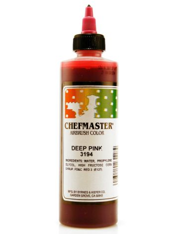 Airbrush Food Color Deep Pink - 9 oz