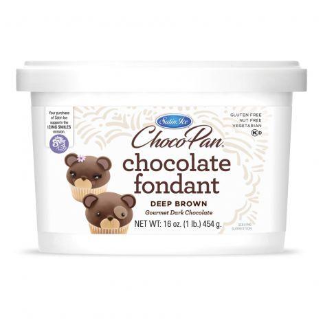 ChocoPan Deep Brown Covering Chocolate 1#