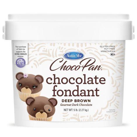 ChocoPan Deep Brown Covering Chocolate 5#