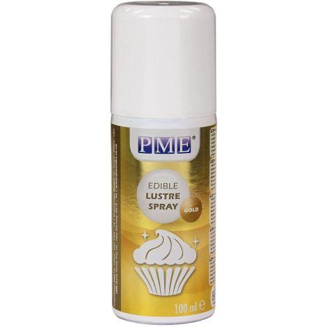 Gold - Edible Lustre Spray 100ml