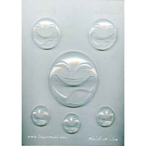 LOL Emoji Chocolate Mold