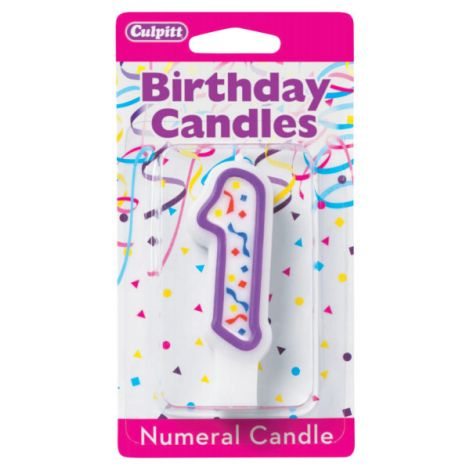 Birthday Candle Number 1