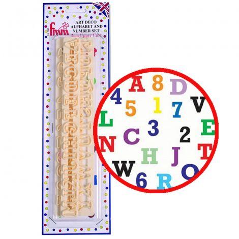 Alphabet & Numbers Set - Upper Case