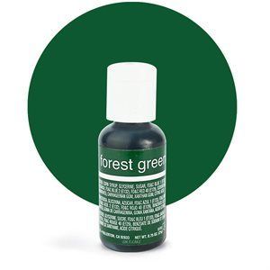 Liqua-Gel Food Color Forest Green .70 oz