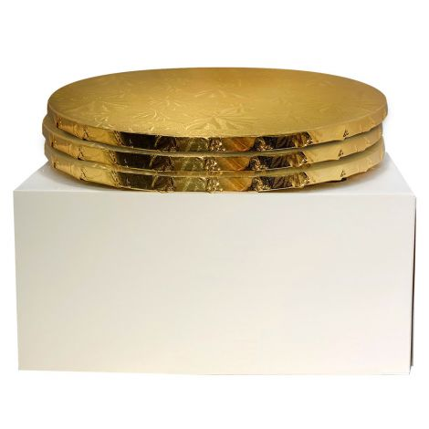 """12"""" Combo Pack With 1/2"""" Round Gold Drum, 3 ct."""