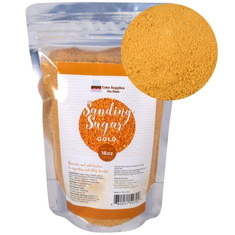 Sanding Sugar Gold 16 oz