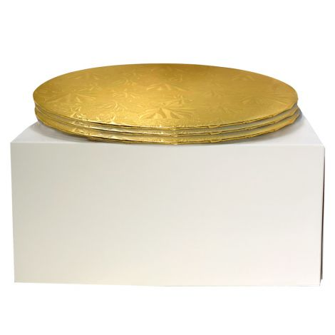 """12"""" Combo Pack With 1/4"""" Round Gold Drum, 3 ct."""