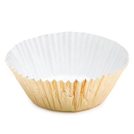 Gold Foil Baking Cups Muffin, 500 ct.