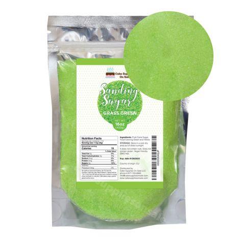 Sanding Sugar Grass Green 16 oz
