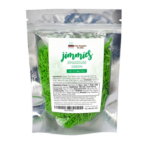 4 oz Jimmies - Green