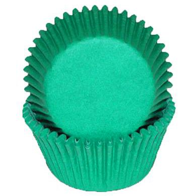 Green Mini Baking Cups, 500 ct.