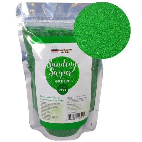 Sanding Sugar Green 16 oz