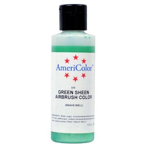 Amerimist Airbrush Color Green Metalic Sheen 4.5 oz