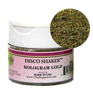 Disco Shaker Hologram Gold, 5 grams