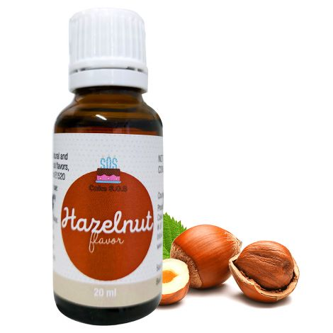 Hazelnut Flavor, 20 ml