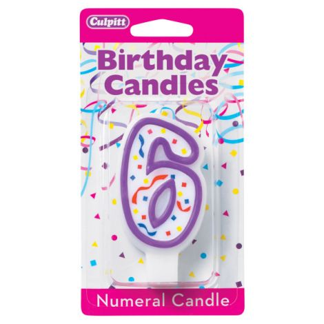 Birthday Candle Number 6