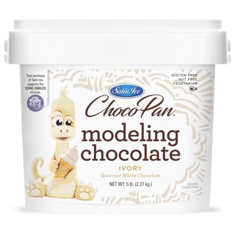 ChocoPan Ivory Modeling Chocolate 5#