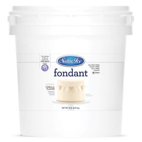 Satin Ice Fondant Ivory 20#