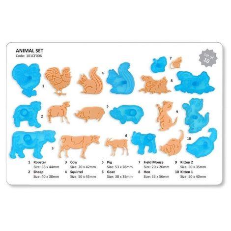 JEM Animal Cutter, Set of 10