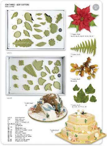 JEM Three Set - Leaf Cutter, 40 Pcs