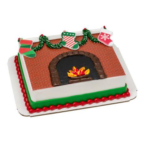 Christmas Stocking Cupcake Rings, 12 ct.