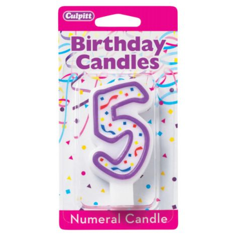 Birthday Candle Number 5