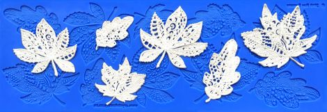 Lacy Leaves Silicone Lace Mat