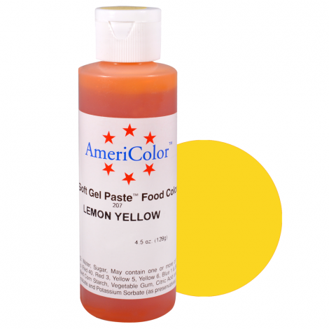 Americolor 4.5 oz Lemon Yellow