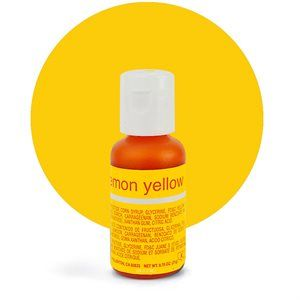 Liqua-Gel Food Lemon Yellow .70 oz