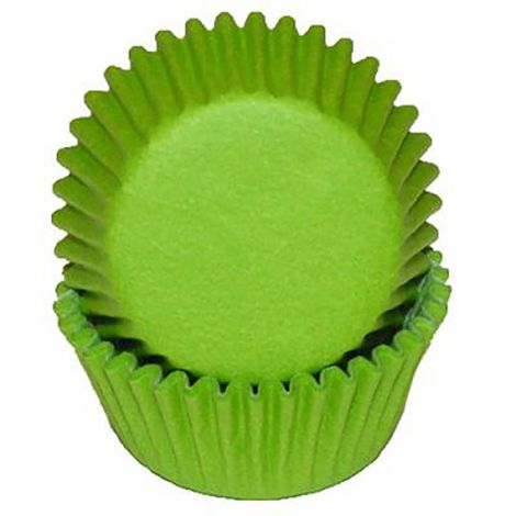 Lime Green Mini Baking Cups, 500 ct.