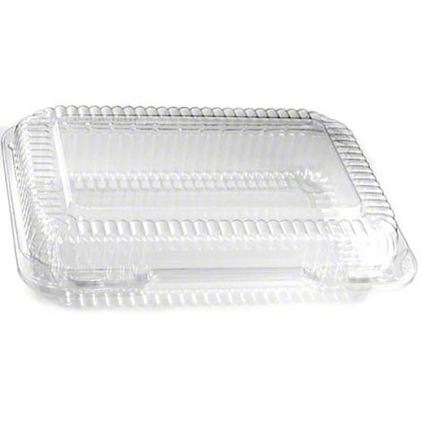 "Multi-Purpose Hinge Container - 9 3/8"" x 6 3/4"" x 2 1/4"", 100 ct"