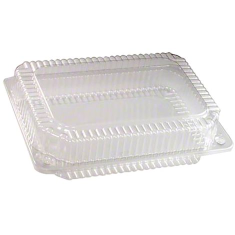 "Multi-Purpose Hinge Container 9"" x 6 1/2"" x 2 5/16"", 12 ct"