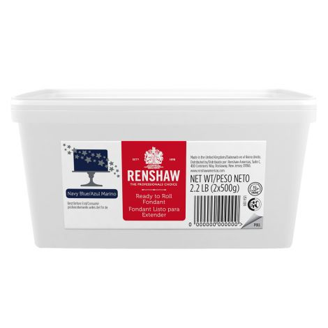 Ready to Roll Fondant Icing Navy Blue 2.2 lb