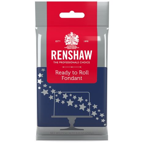 Ready to Roll Fondant Icing Navy Blue 8.8 oz