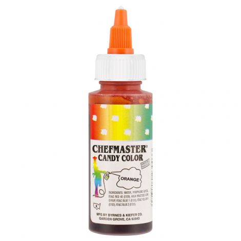 Liquid Candy Color Orange - 2 oz.