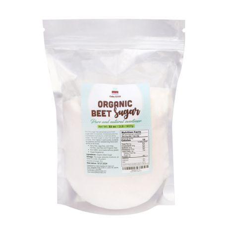 Organic Beet Sugar 2 lb. by Cake S.O.S
