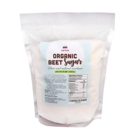 Organic Beet Sugar 5 lb. by Cake S.O.S