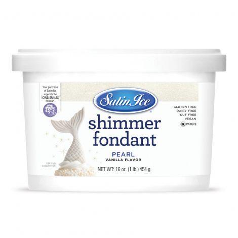 Satin Ice Pearl Shimmer Fondant 1#