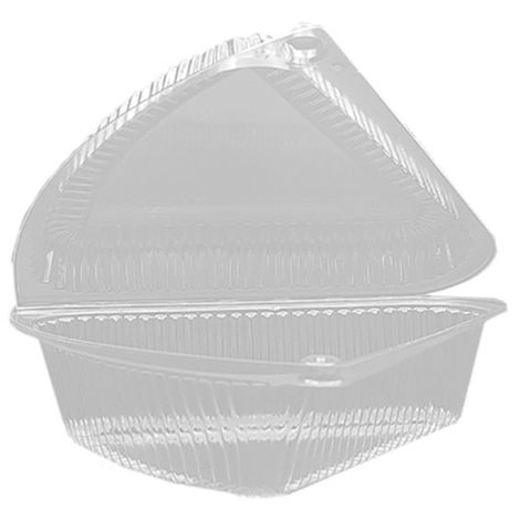 Pie Wedge Container, 6 ct