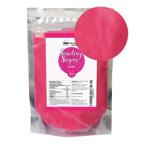 Sanding Sugar Pink 16 oz