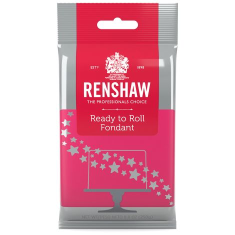 Ready to Roll Fondant Icing Pink 8.8 oz