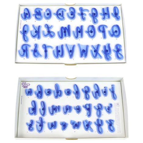 PME Alphabet Fun Fonts Letter Stamping Set