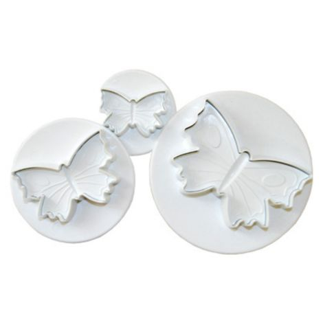 PME Butterfly Plunger Set of 3