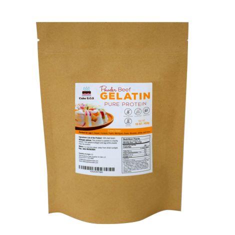 Beef Powder Gelatin, 16 oz