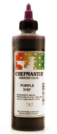 Airbrush Food Color Purple - 9 oz