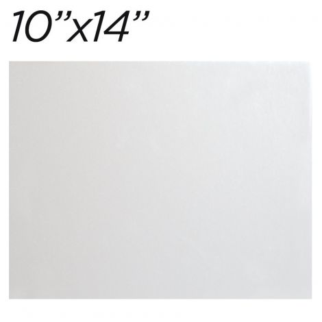"""10""""x14"""" White Cakeboard, 25 ct. - 2 mm thick"""